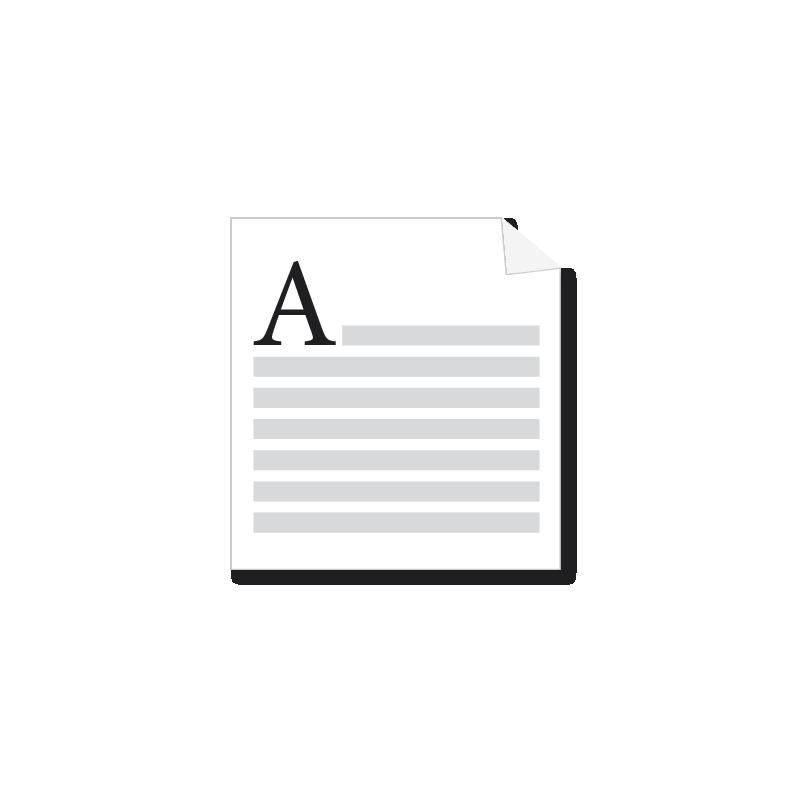 Mise en page simple A4